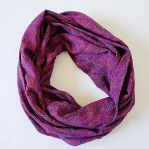 Accessories - Paisley Infinity Scarf